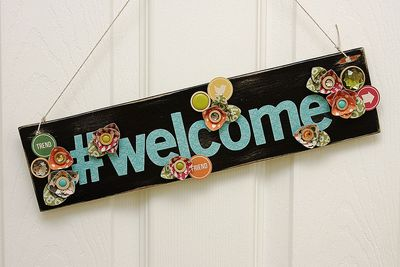Summer-Jillibean-Welcome-Sign