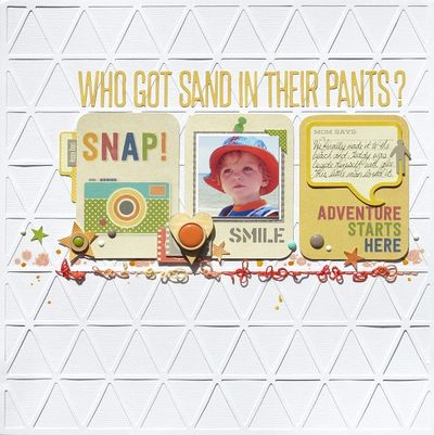 Melinda- Sand in Pants - Layout