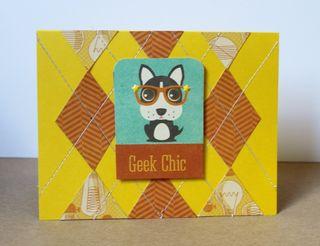 Geek Chic Card PFolchert