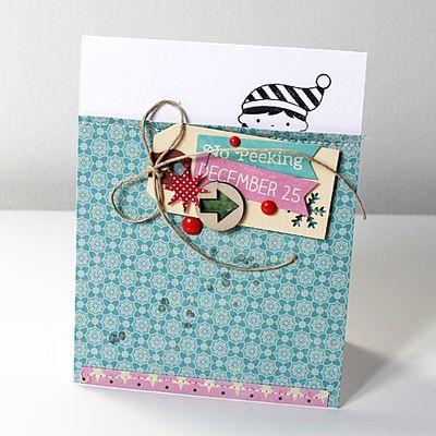Card-Mel-No Peeking