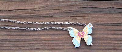 Jen-Butterfly Necklace