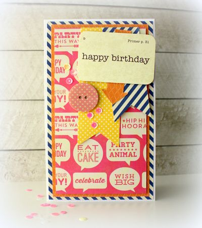 Kimj card happy birthday
