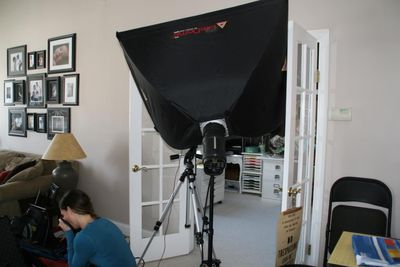 Creative Spaces_Photographer Set up 1