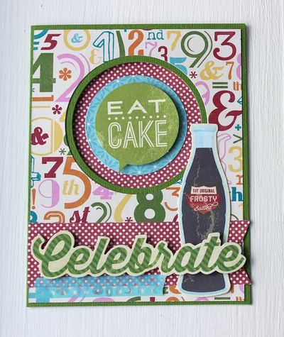 Save and Eat Cake Card-Stephanie Gibeault
