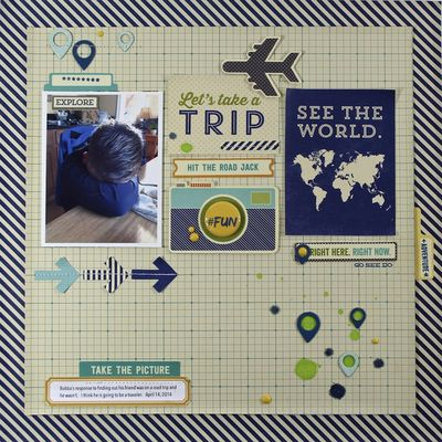 Lets Take a Trip Layout-Mary Ann Maldenado