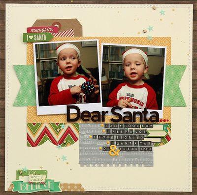 Dear Santa LO-Sarah