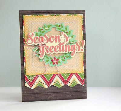 Seasons Greetings Card-Sarah