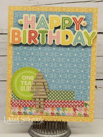 Card-Laurel-Happy Birthday