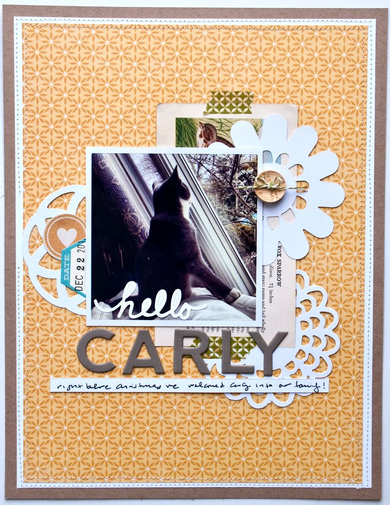 Valerie March Hello Carly layout