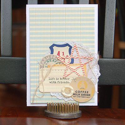 Friends Card-Amy