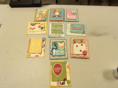 Scrapbooks by the Sea-Birthday Cheater Cards