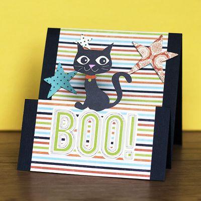 Boo card AR