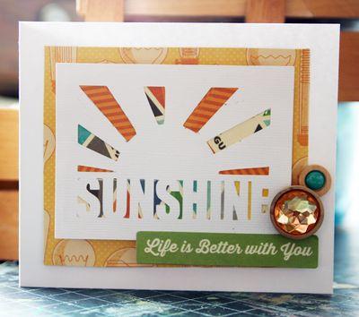 Sunshine Card-Mandy