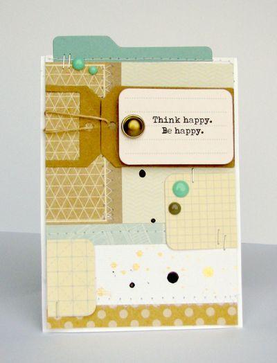 Nicole-be happy card