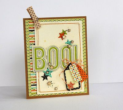 Boo card -Sarah Webb
