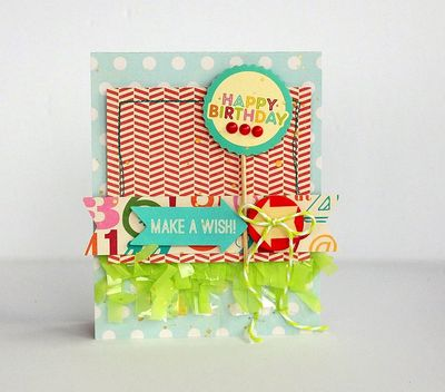 Happy Birthday card by Sarah Webb