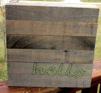 Jen-Hello Wood Plank