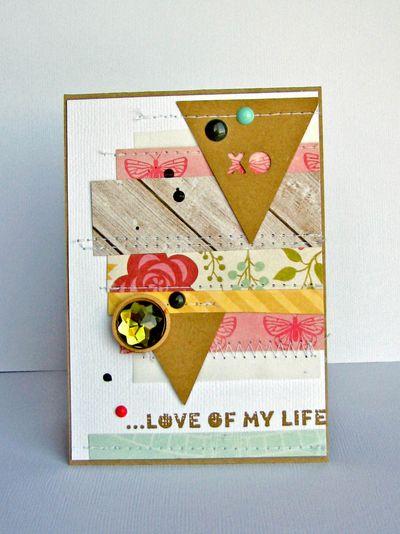 Nicole-love of my life card