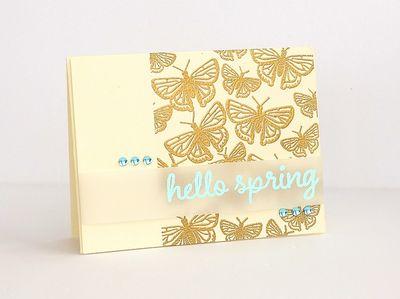 Hello Spring by Sarah Webb