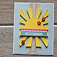 Hello Sunshine Card-Kimberly Crawford