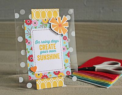Create your own sunshine Kimberly Crawford
