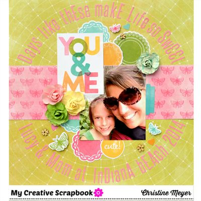 Christine Meyer-You & Me Layout