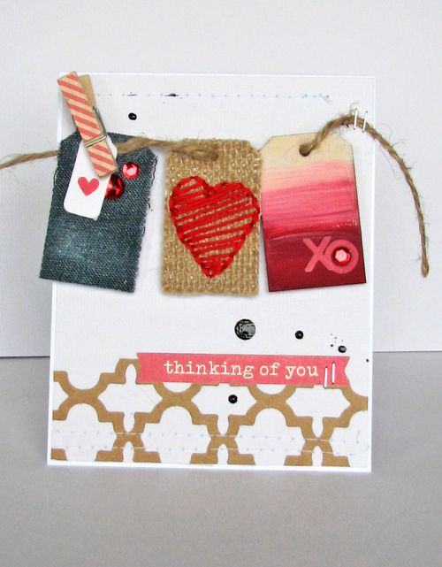 Nicolle-Thinking of you card