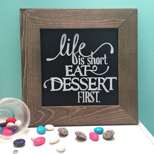 Dessert First - Kristine Davidson