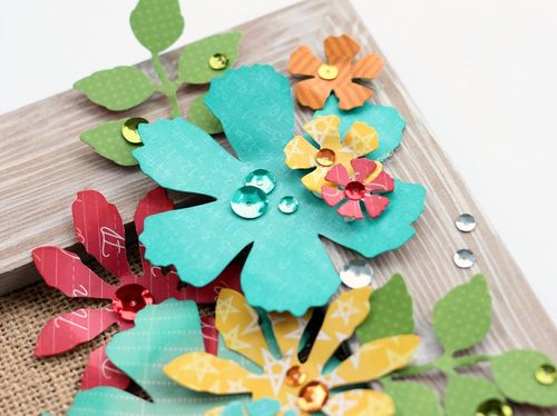 Flower frame closeup1 by Sarah Webb