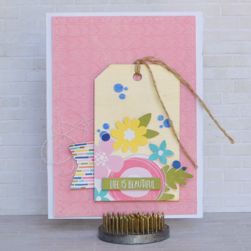 Life Is Beautiful Card-Amy