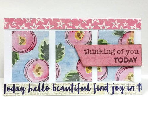 Patty-Thinking of You Today Card