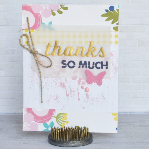 Amy-Thanks So Much Card