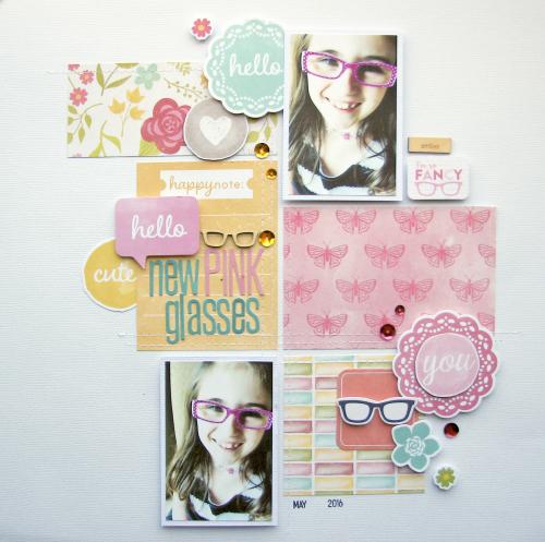 Nicole-New Pink Glasses