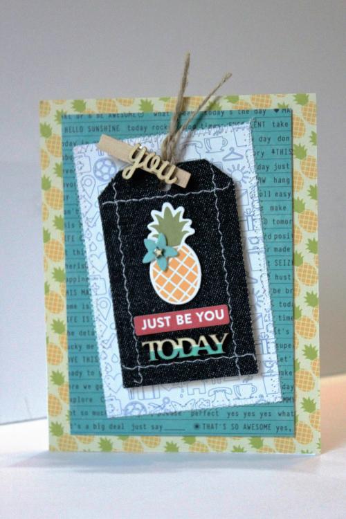 Just Be You Card-Pfolchert