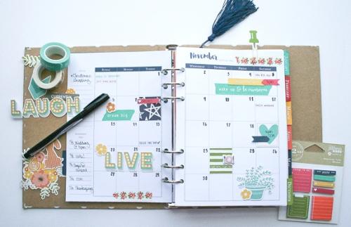 November Calendar 2016-2