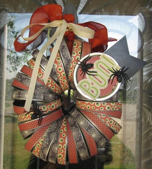 Boo Wreath by Jenifer Harkin