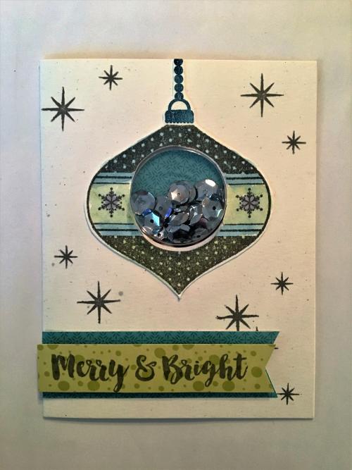 Merry and Bright Card Pfolchert