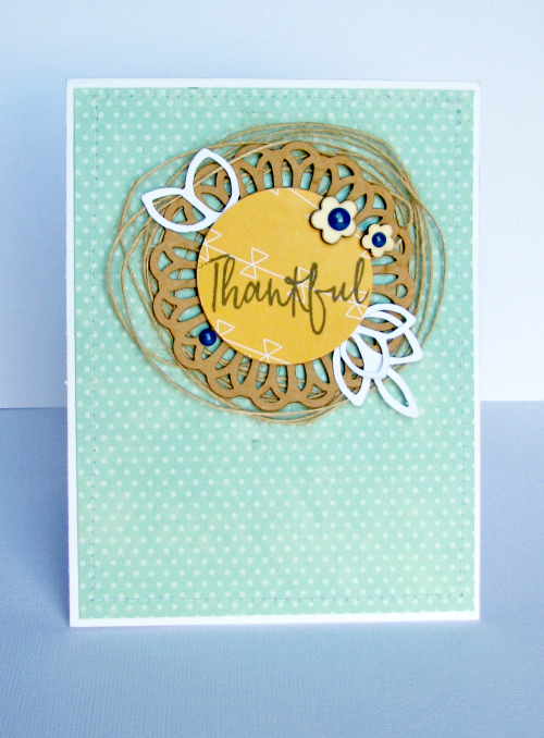 NIcole-Thankful card