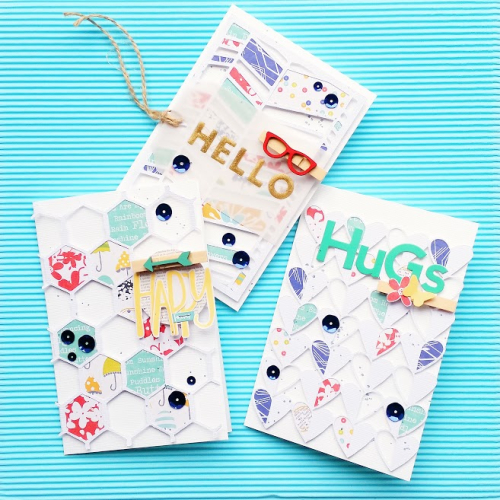 Happy Hello Hugs Cards-Zsoka Marka