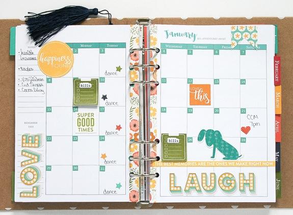 Wendy-January Calendar
