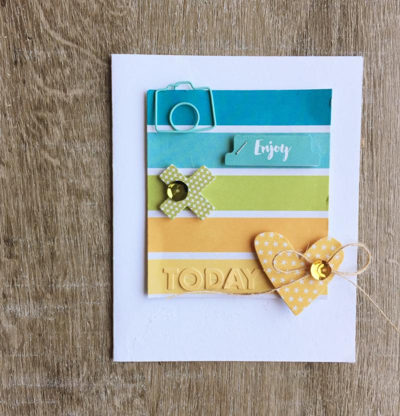 Enjoy Today Card-Kristine