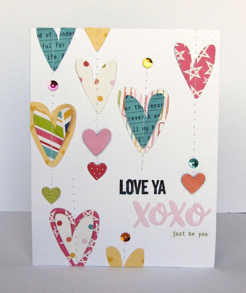 Nicole-Love ya xoxo card draft