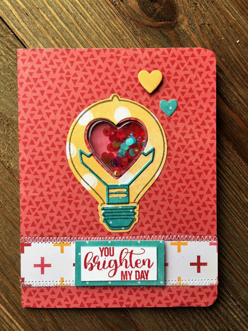 Patty-U Brighten My Day Card