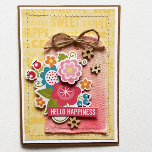Hello Happiness Tag - Kristine Davidson