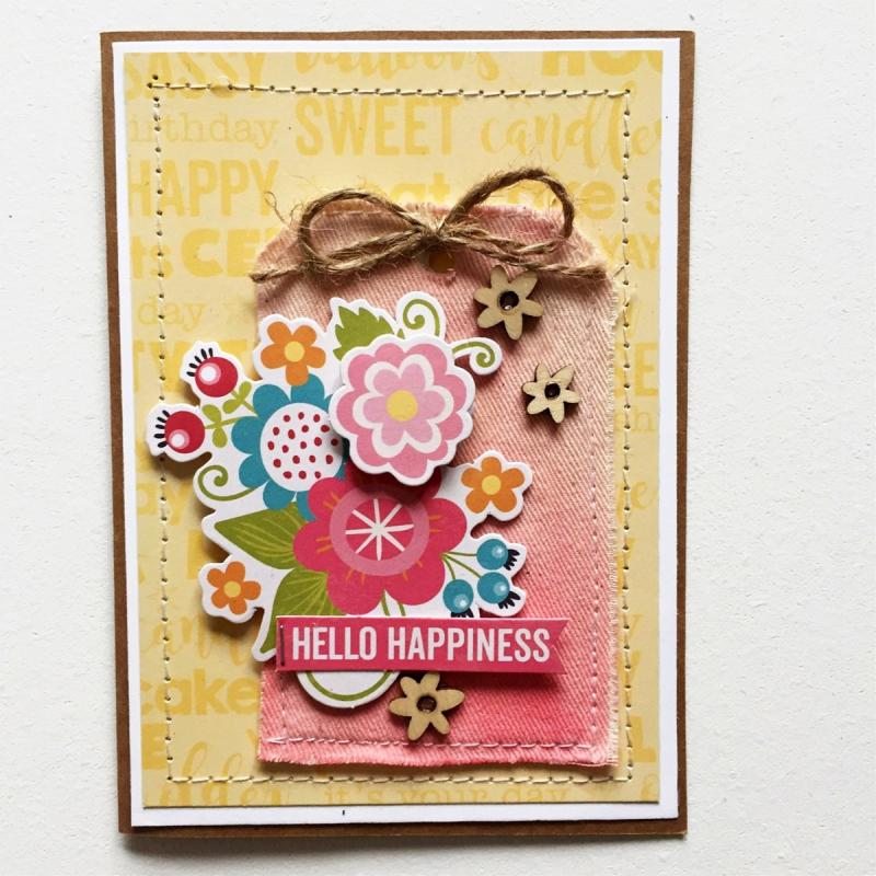 Hello Happiness Tag - Kristine Davidson