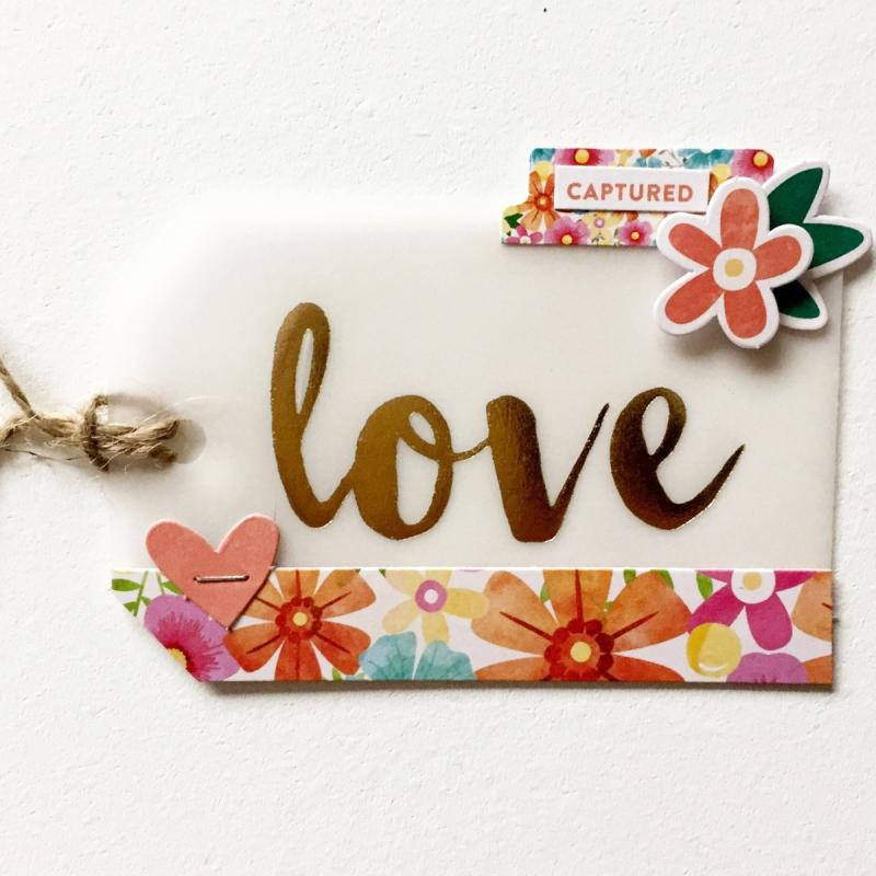 Love tag - Kristine Davidson