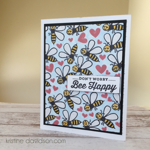 Bee Happy - Kristine Davidson