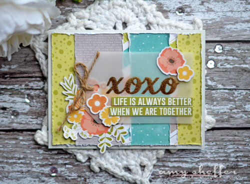 Amy S. XOXO Card