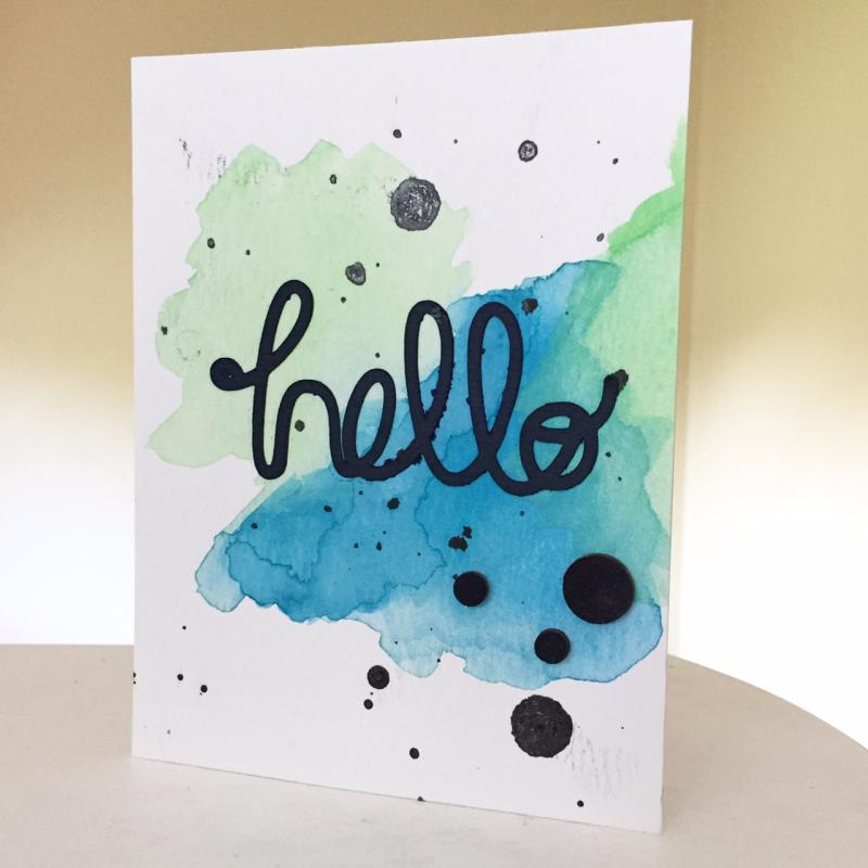 Hello Watercolor -Kristine