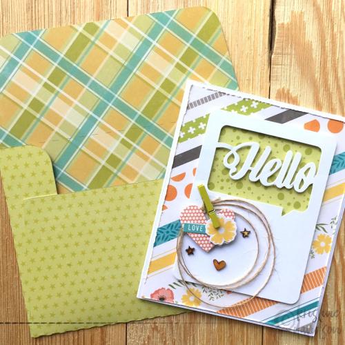 Hello envelope 1 - Kristine Davidson